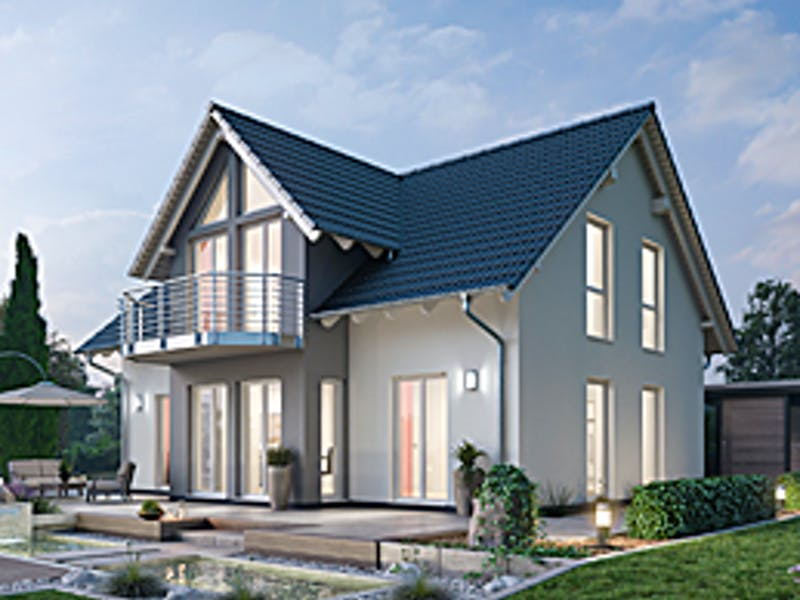 Ytong Bausatzhaus mit Zwerchgiebel