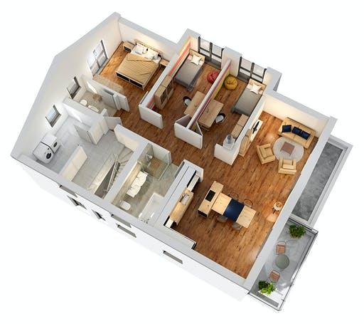 Ytong Zweifamilienhaus ZFH 244 Floorplan 4
