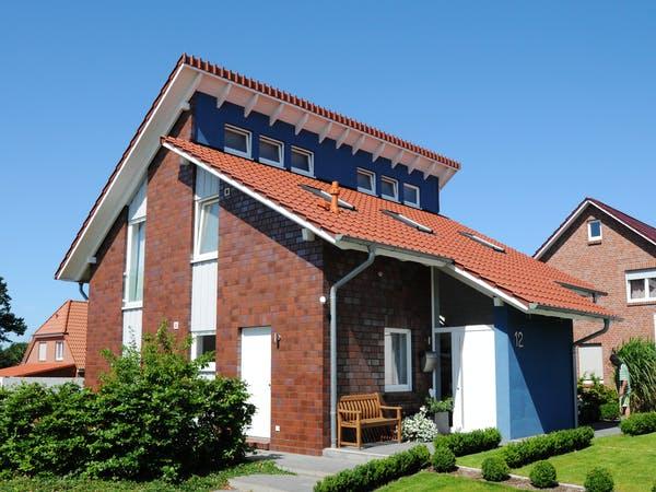 Schleppdach beim Pultdach als Eingangsbereich