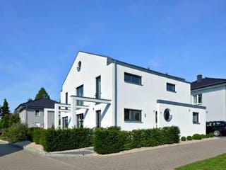 Kundenhaus Arndt von Zaunmüller Massivhaus Außenansicht 1