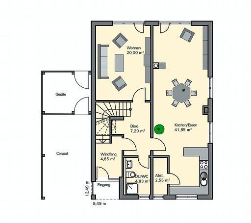 Zaunmüller - Eichner Floorplan 1