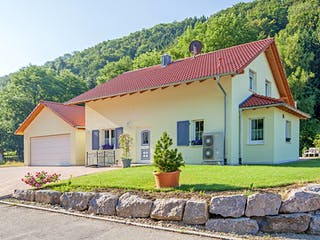 Kundenhaus Fichtner von Zaunmüller Massivhaus Außenansicht 1