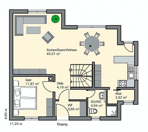 Zaunmüller - Fichtner Floorplan 1
