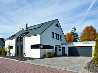 Kundenhaus Götze von Zaunmüller Massivhaus Außenansicht 1