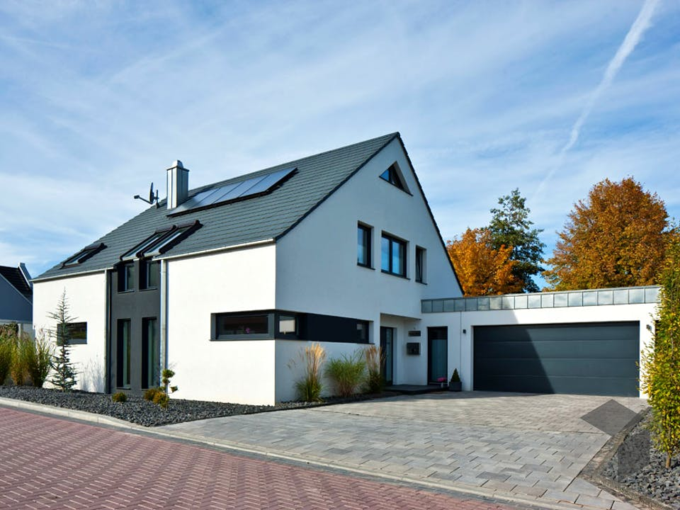 Kundenhaus Götze von Zaunmüller Massivhaus Außenansicht