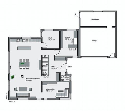 Zaunmueller - Götze Floorplan 1
