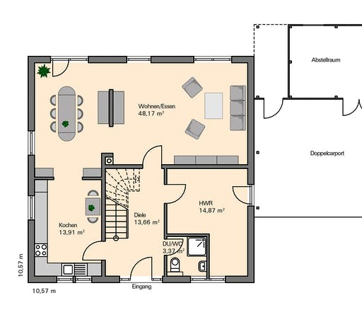 Zaunmüller - Ihle Floorplan 1