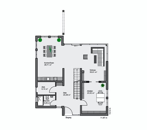 Zaunmüller - Jonas Floorplan 1