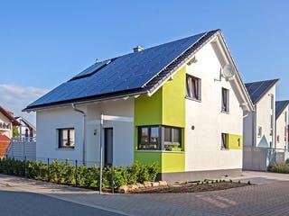 Kundenhaus Maiwald von Zaunmüller Massivhaus Außenansicht 1