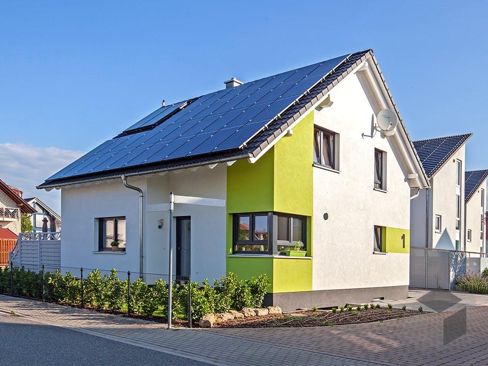Kundenhaus Maiwald von Zaunmüller Massivhaus Außenansicht