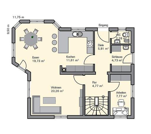 Zaunmüller - Niedermayer Floorplan 1