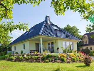 Kundenhaus Tengelmann von Zaunmüller Massivhaus Außenansicht 1