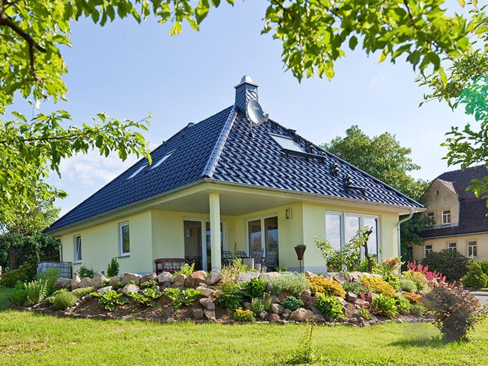 Kundenhaus Tengelmann von Zaunmüller Massivhaus Außenansicht
