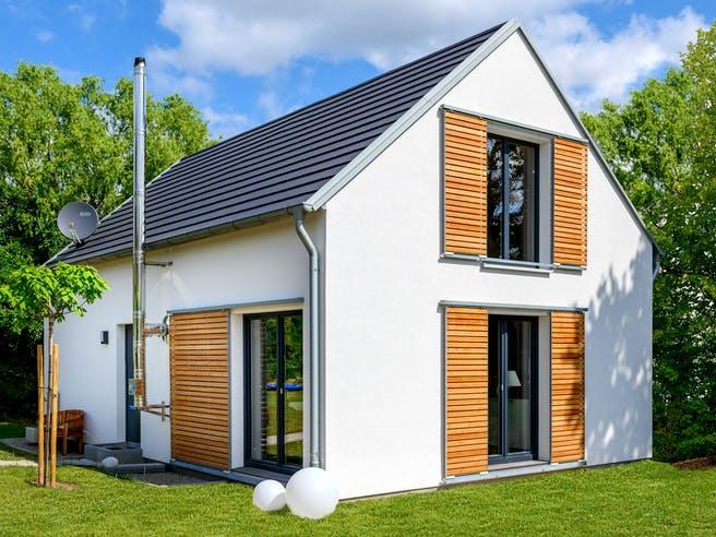 Einfamilienhaus mit Satteldach von Ziegler Haus Außenansicht 1
