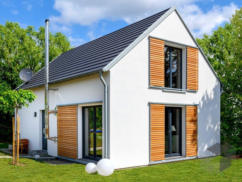 Einfamilienhaus mit Satteldach von Ziegler Haus Außenansicht