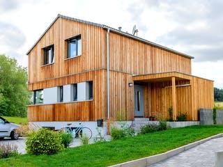 Einfamilienhaus mit Keller von Ziegler Haus Außenansicht 1