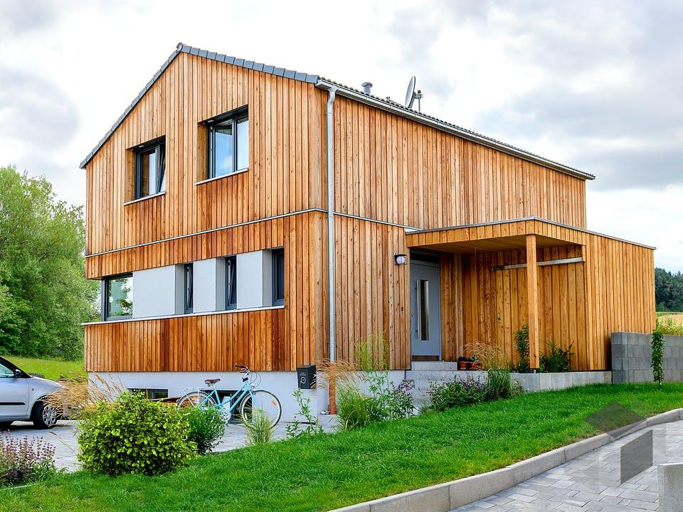 Einfamilienhaus mit Keller von Ziegler Haus Außenansicht