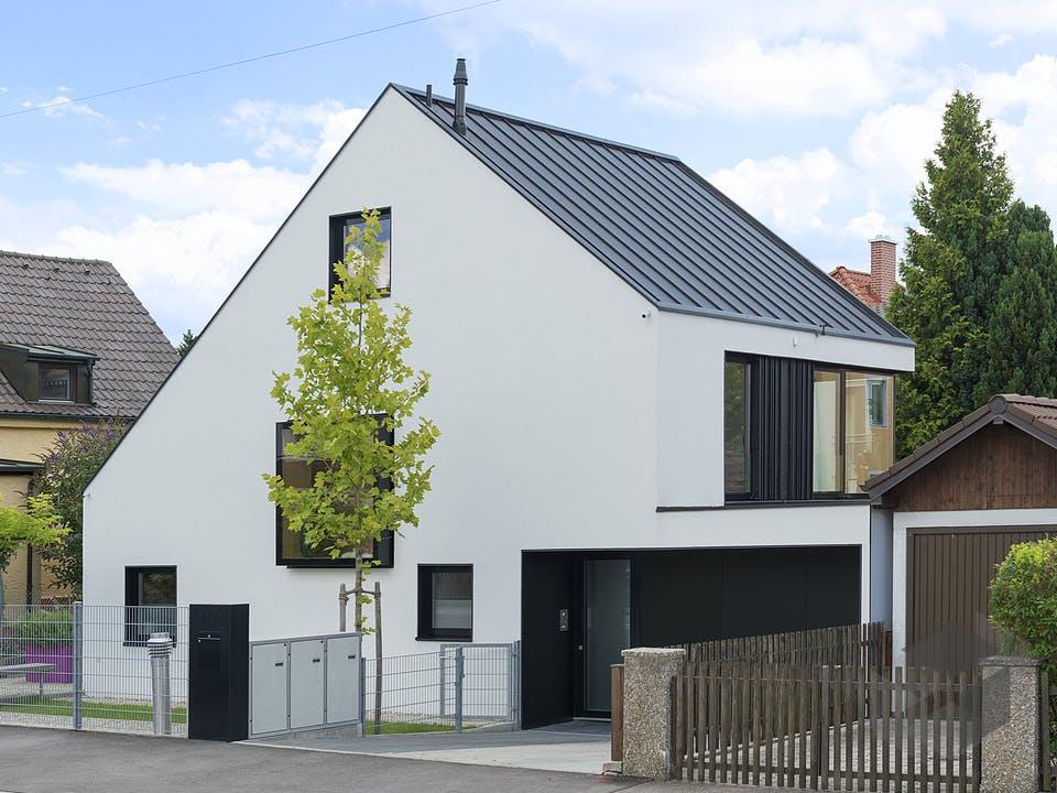 Design Stadthaus 02 von Zimmerer-Profibau Außenansicht