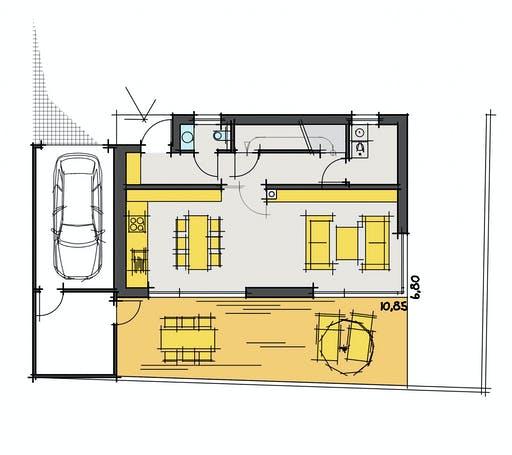 Zimmerer-Profi - Design Stadthaus 2 Floorplan 1