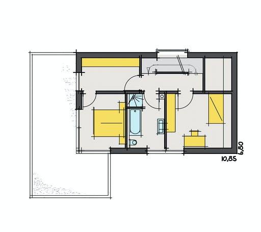 Zimmerer-Profi - Design Stadthaus 2 Floorplan 2