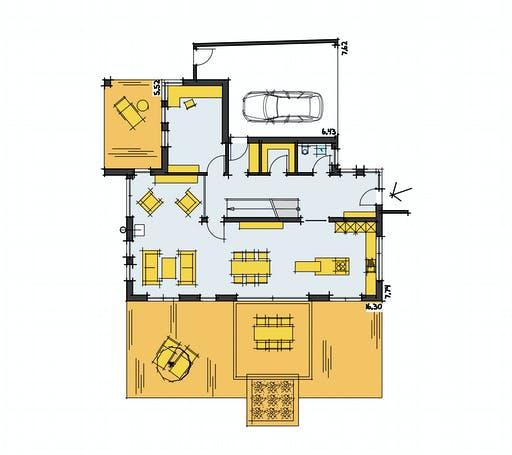 Zimmerer-Profi - Stadtvilla 1 Floorplan 1