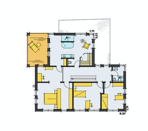 Zimmerer-Profi - Stadtvilla 1 Floorplan 2