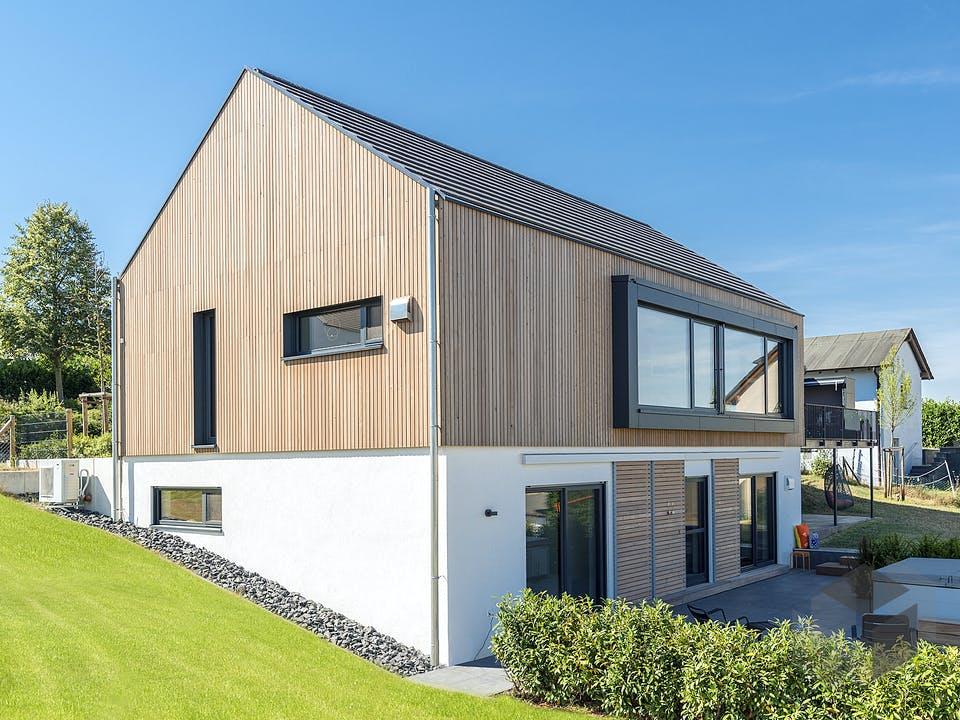 Design Haus 01 von Zimmerer-Profibau Außenansicht
