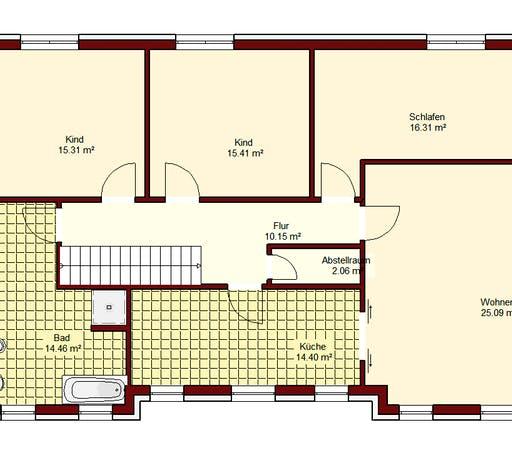 Zweifamilienhaus Spandau Floorplan 2