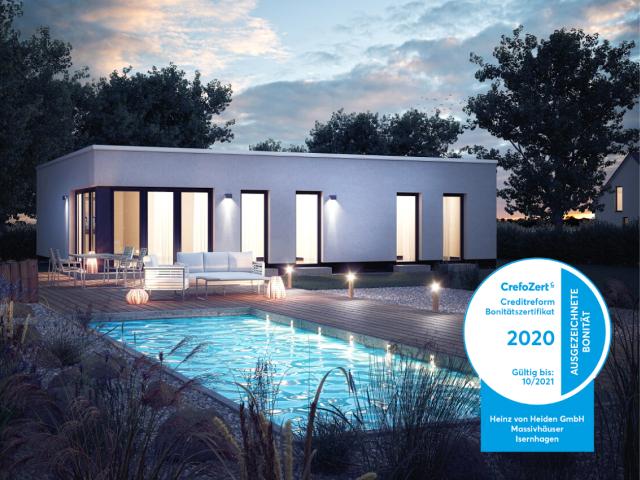 Heinz von Heiden Creditreform 2021 Haus